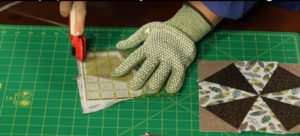 Learn about foundation paper piecing in this informative quilting video tutorial!