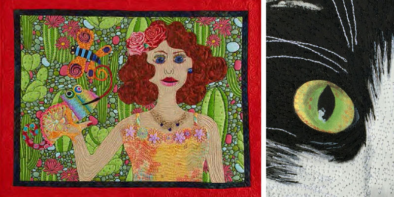 Projects featured in Quilting Arts TV episode 1903