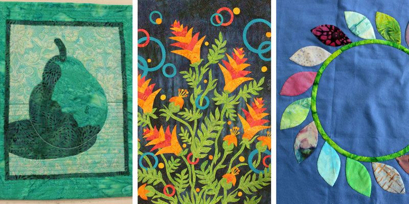 Projects from Quilting Arts TV episode 1908