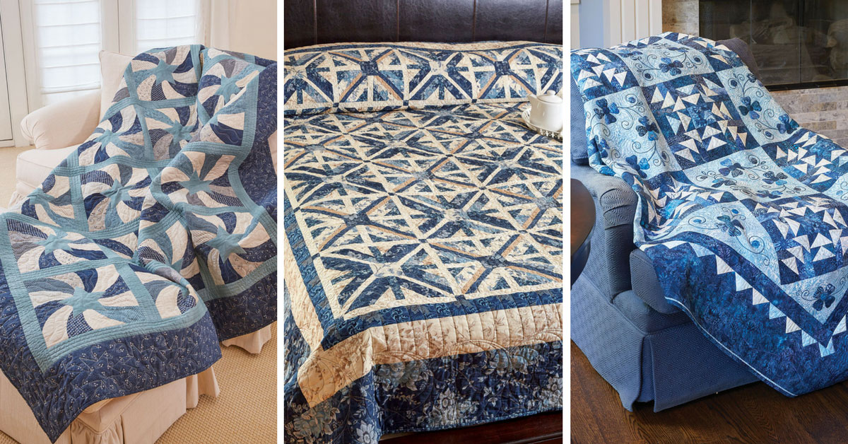 Fons & Porter's Love of Quilting March/April 2017 Featured Projects