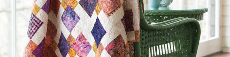Learn how to make the Disappearing Nine-Patch Quilt block pattern in this informative article.