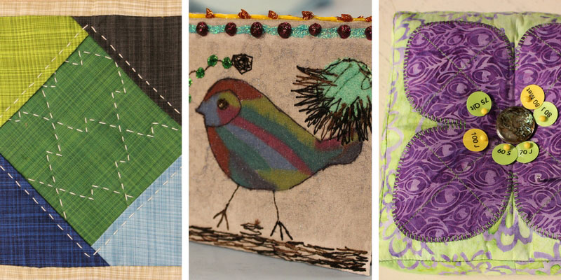 Three projects featured in episode 2008 of Quilting Arts TV