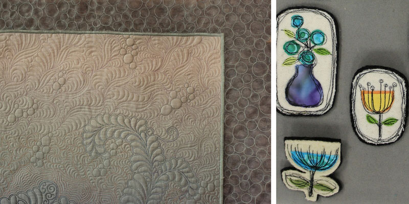 Two projects from episode 2013 of Quilting Arts TV