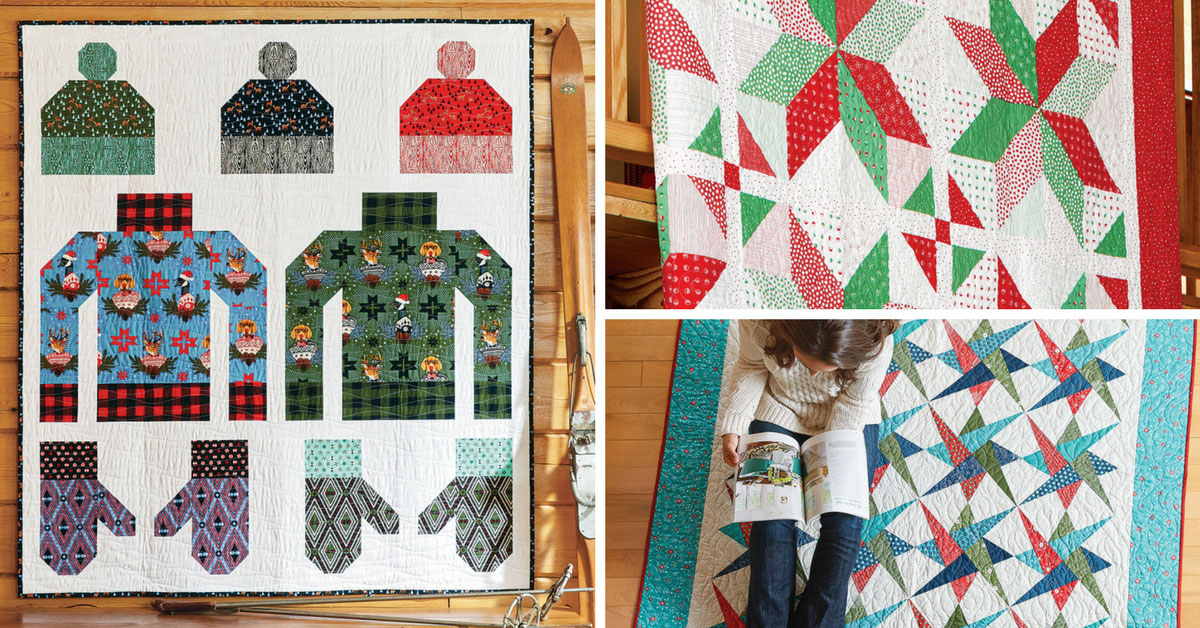 Quilty November/December 2017 Featured Projects