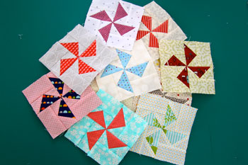 10 The Bitty Blocks of 2015: Free Quilt Block Patterns