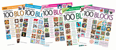 100 blocks covers400px2 100 Things Every Quilter Should Do