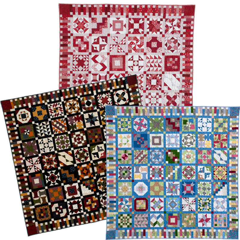 100BLKS SAMP ALL 100 Blocks Sampler Sew Along   Block 40