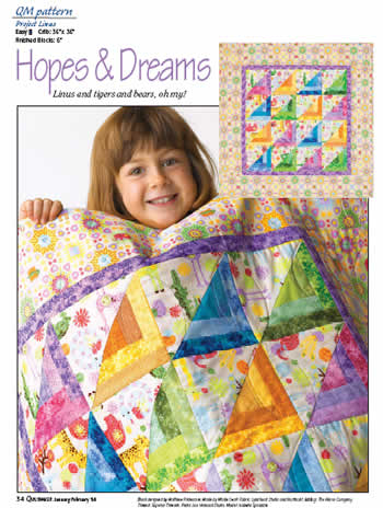 Pattern Hopes Dreams The Quilting Company