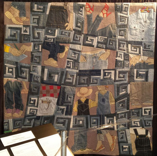 11 4jeans quilt Photos of Quilts from International Quilt Festival 2016
