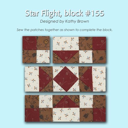 155 3 100 Blocks Sampler Sew Along   Block 38