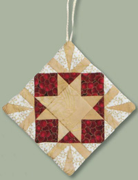 161220 ornament Finish Your Christmas Quilting! Fast + Easy Ideas