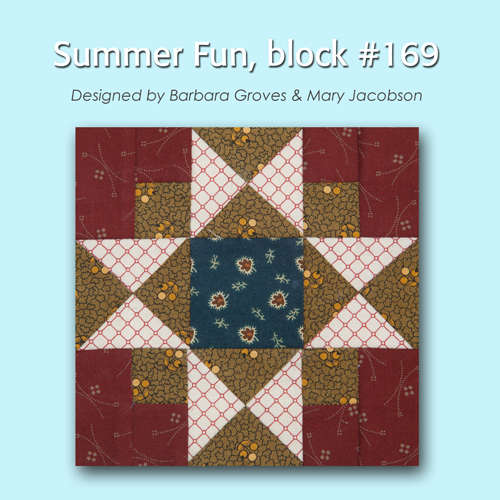 169 1 100 Blocks Sampler Sew Along   Block 23