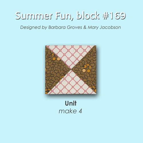 169 2 100 Blocks Sampler Sew Along   Block 23