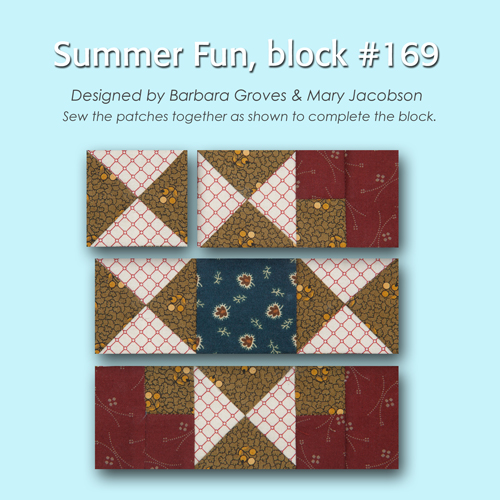 169 3 100 Blocks Sampler Sew Along   Block 23