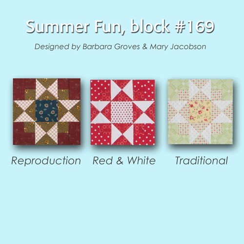 169 4 100 Blocks Sampler Sew Along   Block 23