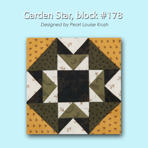 178 1 100 Blocks Sampler Sew Along   Block 10