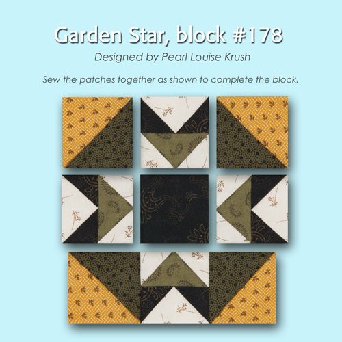 178 3 100 Blocks Sampler Sew Along   Block 10