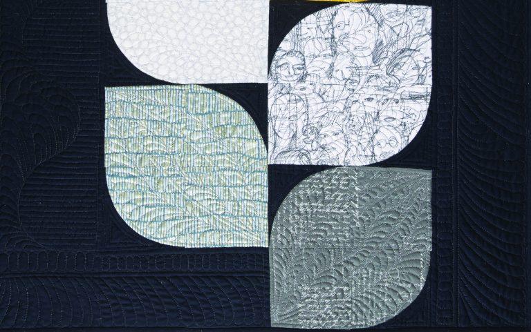 Detail of Seven Petals by Ana Buzzalino