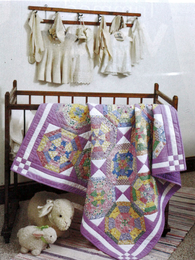 1930s Spiderweb Quilt - Baby Quilt Patterns