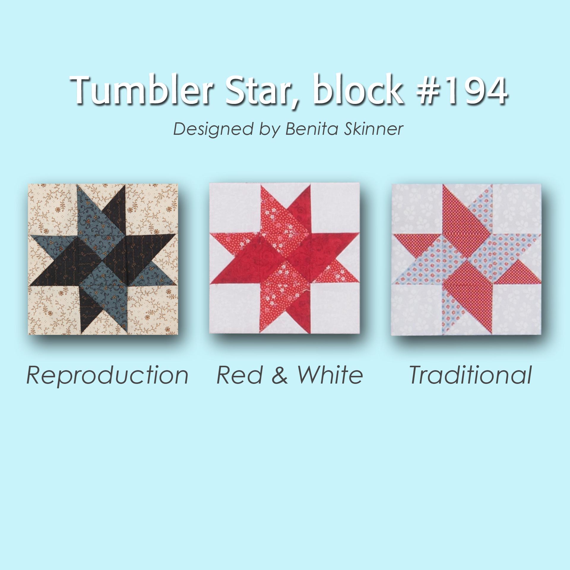 194 3 100 Blocks Sampler Sew Along   Block 7