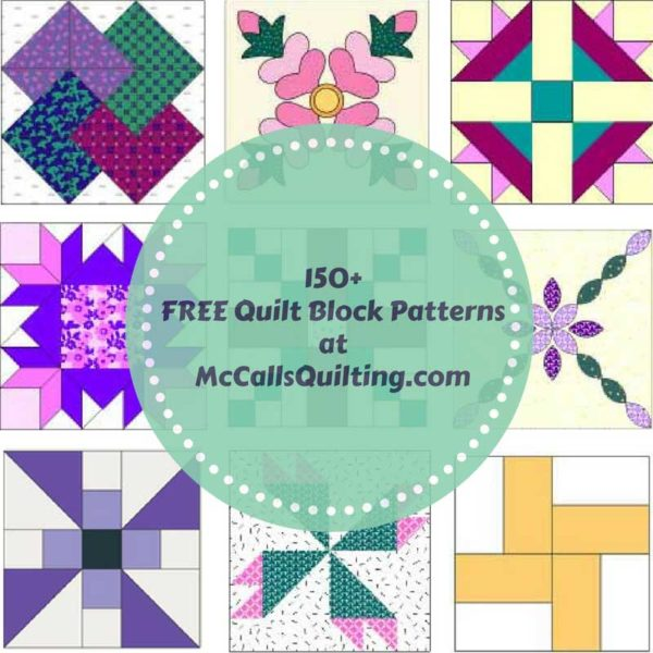 150+ Free Quilt Block Patterns and Inspiration from ... : quilt square patterns - Adamdwight.com