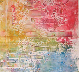 Collagraph Printing Tutorial: Collagraphs: Monoprinting with Texture Plates