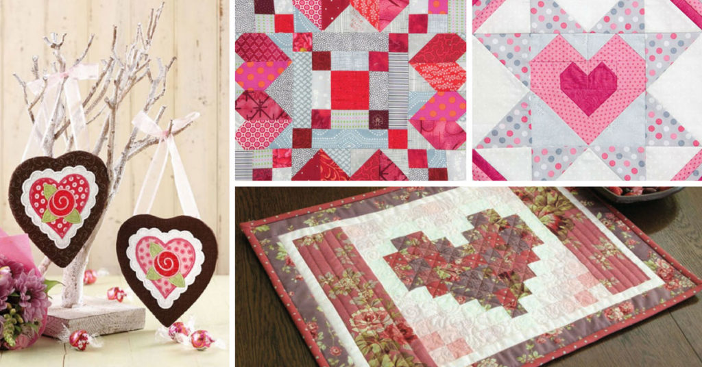 14 Valentine Quilt Patterns Amp Project Ideas The Quilting