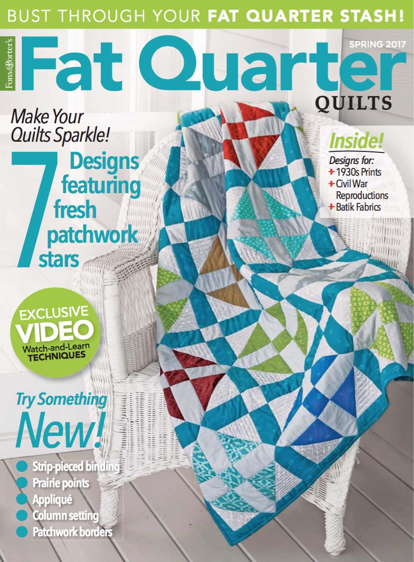 Fat Quarter Quilts 2017