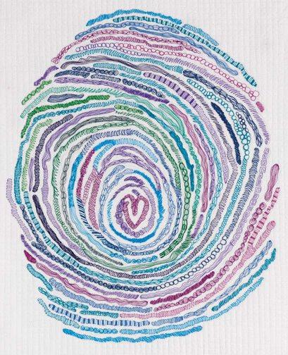 thread art by susan brubaker knapp
