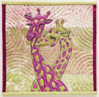 reader challenge quilt art melanie johnston