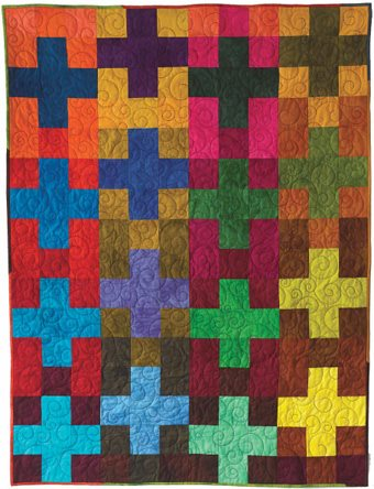 Block Friday Nine Patch With A Modern Quilting Twist Quilting
