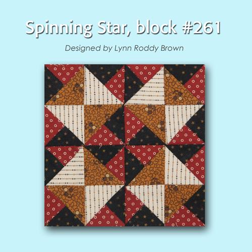 261 1 100 Blocks Sampler Sew Along   Block 1