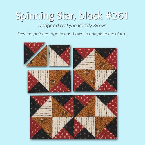 261 2 100 Blocks Sampler Sew Along   Block 1
