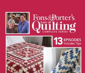 Fons & Porter's Love of Quilting 2900 Series