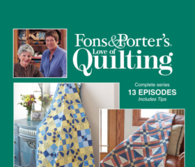 Fons & Porter's Love of Quilting 2800 Series
