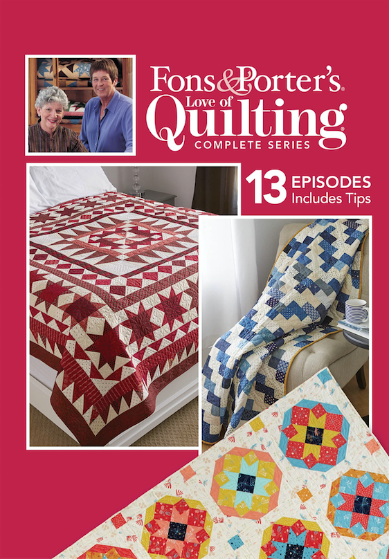 Love Of Quilting Tv Show 2900 Series The Quilting Company