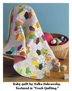 patchwork baby quilt dubrawsky