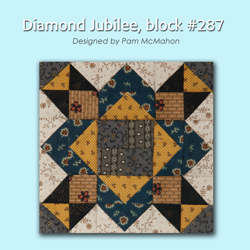 287 1 100 Blocks Sampler Sew Along   Block 36