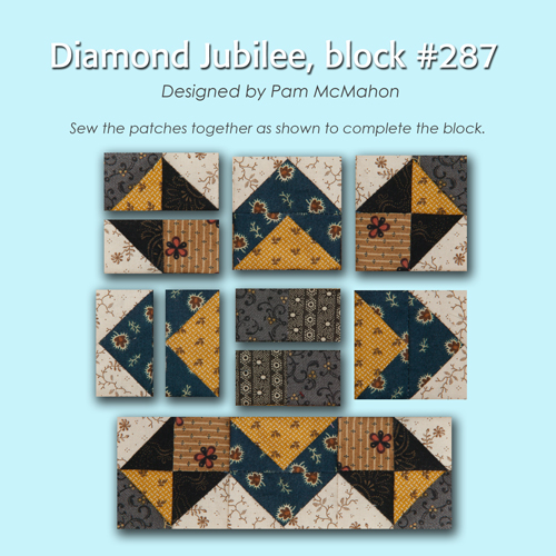 287 3 100 Blocks Sampler Sew Along   Block 36