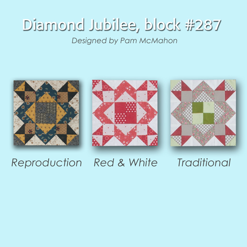 287 4 100 Blocks Sampler Sew Along   Block 36