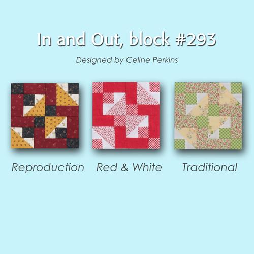 293 3 100 Blocks Sampler Sew Along   Block 11