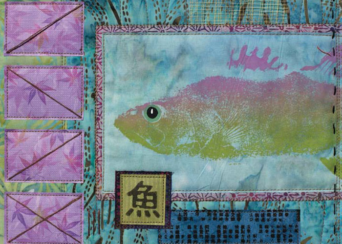 Quilting Lessons in Fun - Take 2: Fishy Quilt Challenge by Jane Dvila and Elin Waterston