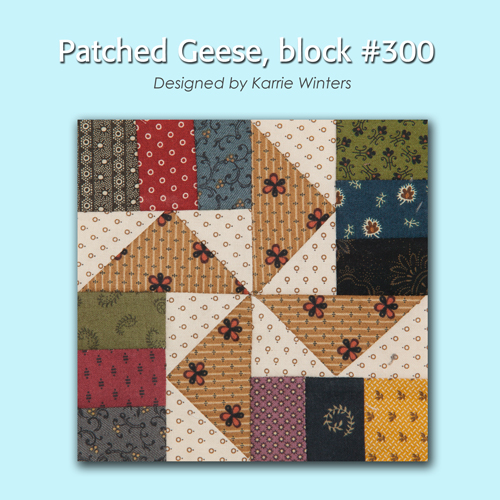 300 1 100 Blocks Sampler Sew Along   Block 39