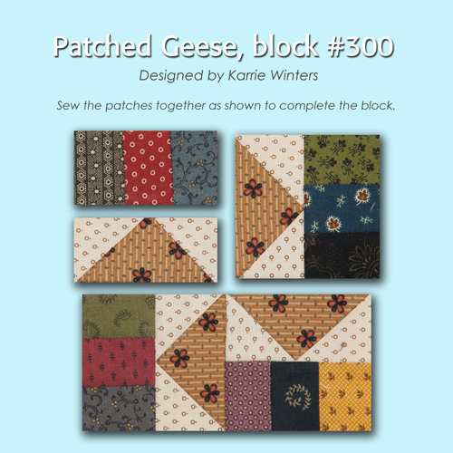 300 3 100 Blocks Sampler Sew Along   Block 39
