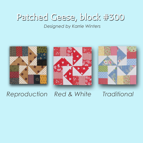 300 4 100 Blocks Sampler Sew Along   Block 39