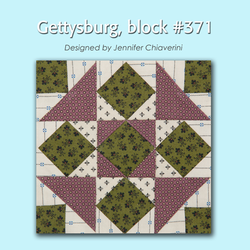 371 1 100 Blocks Sampler Sew Along   Block 29