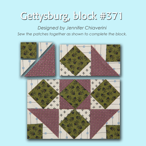 371 3 100 Blocks Sampler Sew Along   Block 29