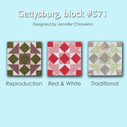 371 4 100 Blocks Sampler Sew Along   Block 29