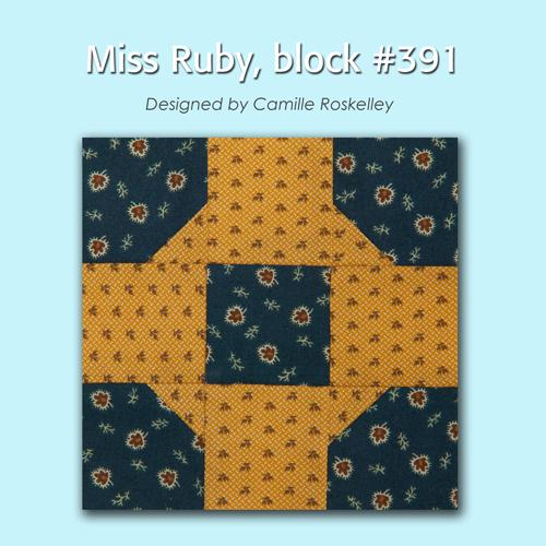 391 1 100 Blocks Sampler Sew Along   Block 35
