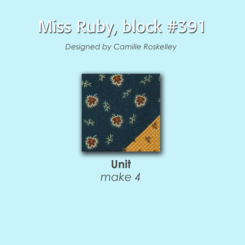 391 2 100 Blocks Sampler Sew Along   Block 35